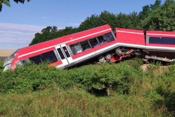 Photo Story: Railway crash in Smolecin, Poland