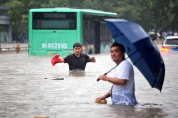 UPDATED: Central China's Henan province swamped after heaviest rain in 1,000 years