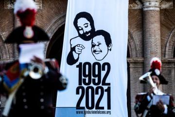 Mattarella tells Italy to uproot its mafias on Borsellino anniversary