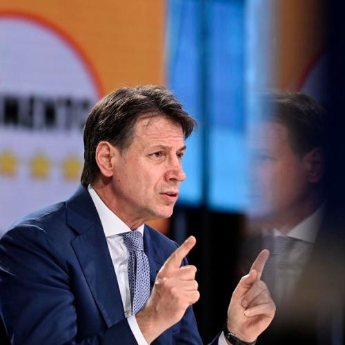Italy's Conte presents party statute for Five Star Movement