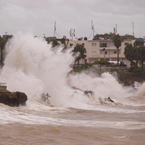 Elsa slows between Haiti and Jamaica after winds cause 2 deaths in Dominican Republic