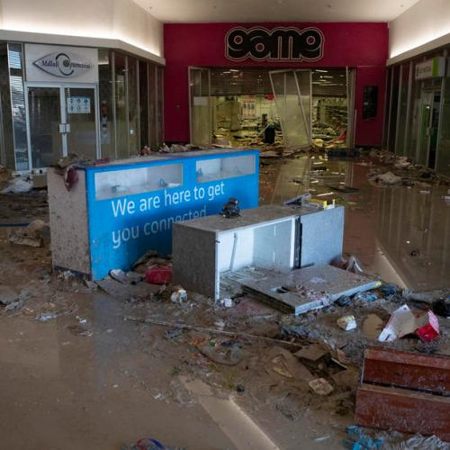 Citizens arm themselves as looting, unrest rock South Africa