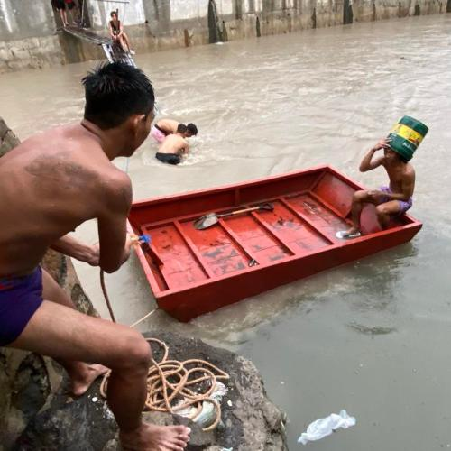 Philippines evacuates thousands as monsoon rains flood cities, provinces