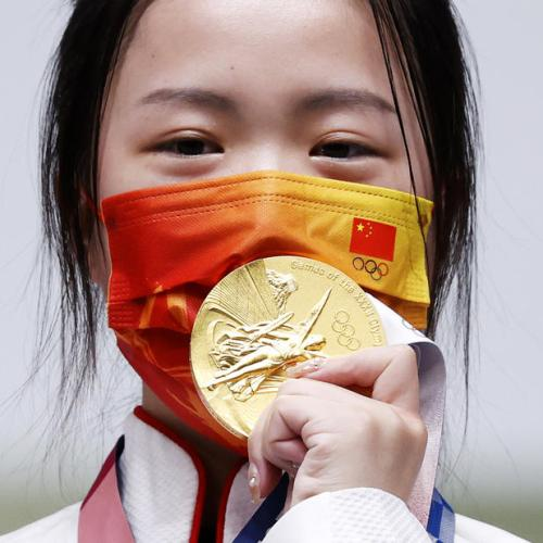 China's Yang grabs first gold of Olympic Games
