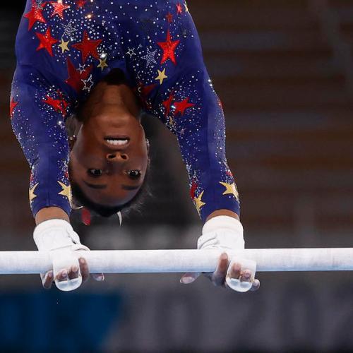 Star gymnast Biles withdraws from vault, uneven bars finals