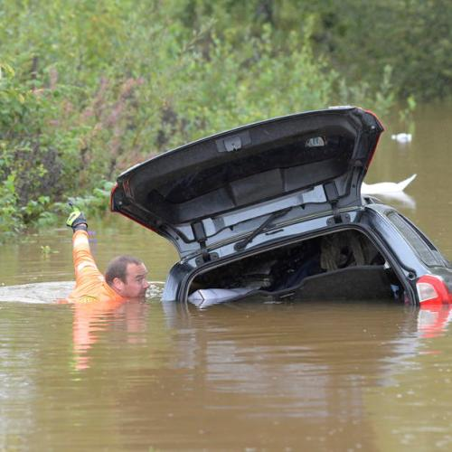 Photo Story: Flooding in eastern Sweden
