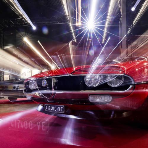 Photo: Car Design exhibition in tribute to Nuccio Bertone opens in Russia
