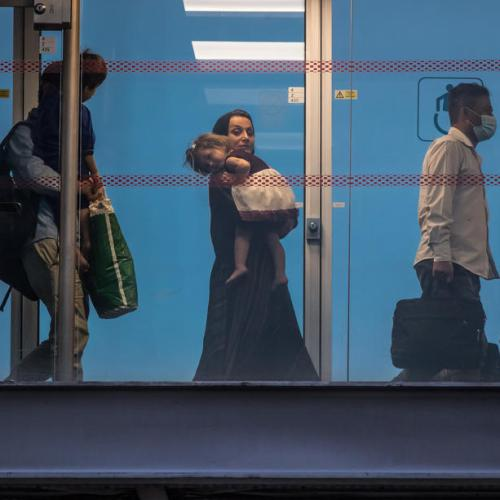 Airlifted Afghans to receive temporary shelter in Albania