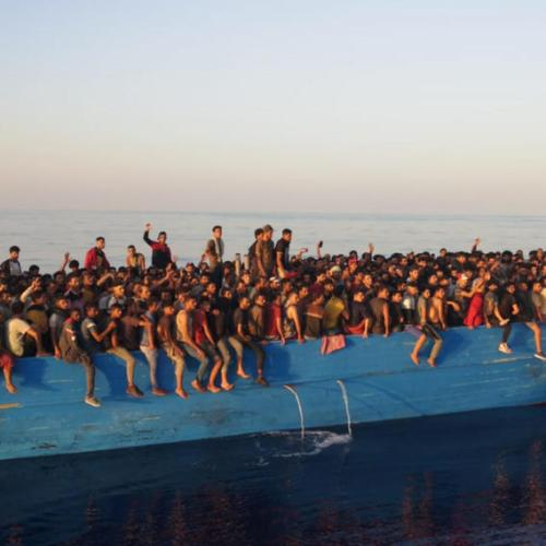 Photo Story: 400 migrants rescued off Lampedusa