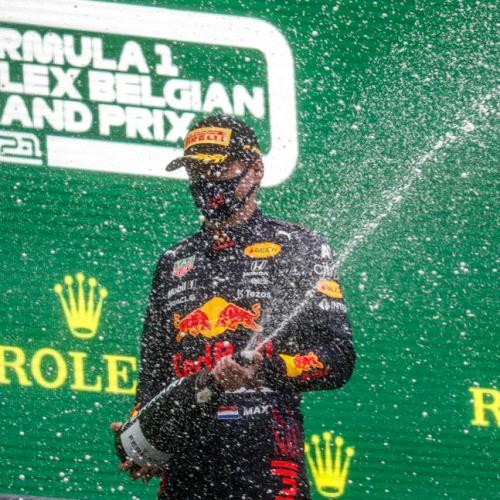 Verstappen wins in Belgium without racing a single lap
