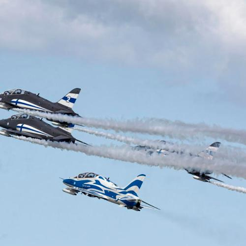 Photo Story: Midnight Hawks in action at the Lotos Gdynia Aerobaltic 2021 in Poland