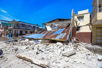 Another quake of magnitude 5.9 strikes Haiti Region – EMSC