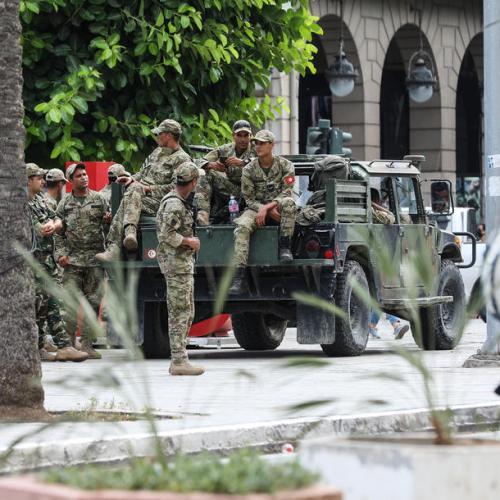 U.S. presses Tunisia's president for swift return to democratic path