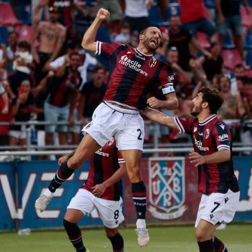 Bologna beats Salernitana 3 – 2
