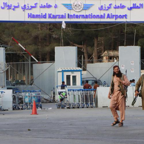 U.S. military begins withdrawal from Kabul airport