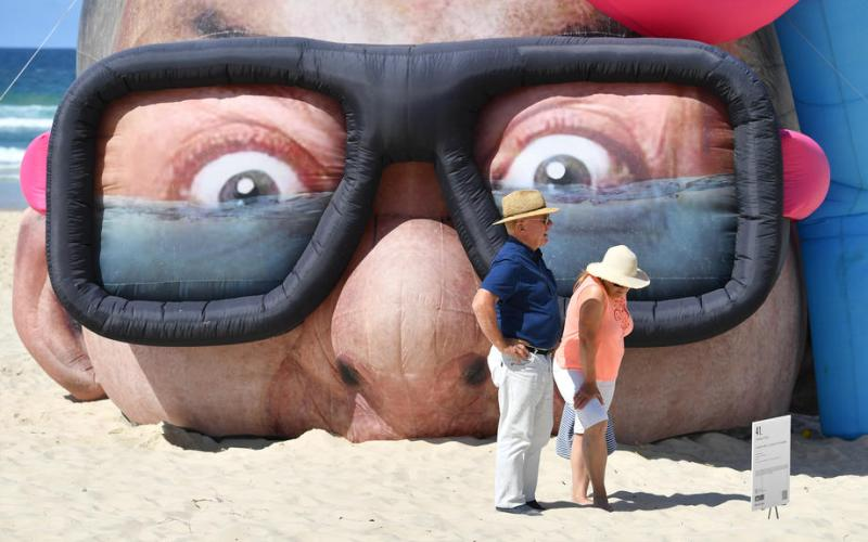 Photo Story: The Swell Sculpture Festival at Currumbin Beach