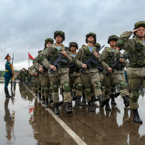 Russia and Belarus formally open huge war games, worrying NATO