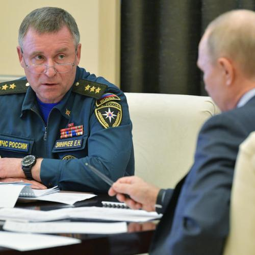 UPDATED: Russia's emergencies minister dies during Arctic training exercise