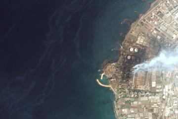 Concern as Syrian oil slick spreads across Mediterranean