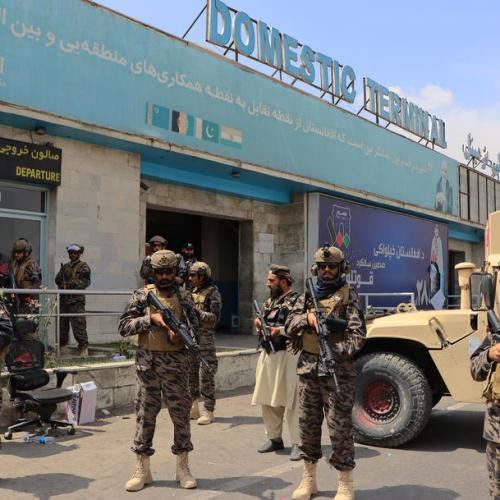 UPDATED: Taliban interim government agrees to let foreigners leave Afghanistan