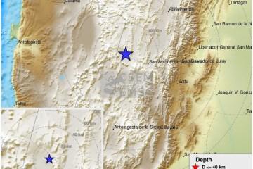 Earthquake of magnitude 6 strikes Salta, Argentina – EMSC