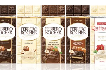 Ferrero Rocher launches chocolate bar