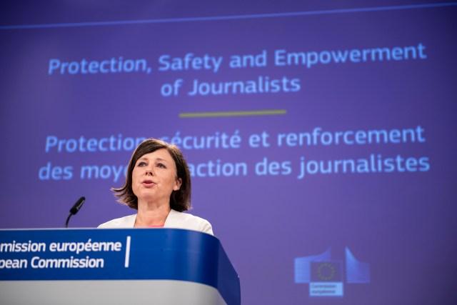 'No journalist should die': EU calls for better media safety