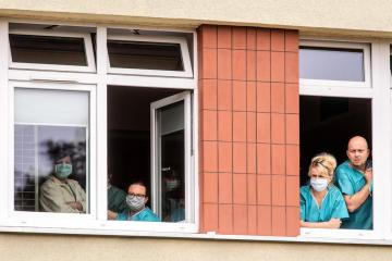 Polish medics march to demand better pay and health system reforms