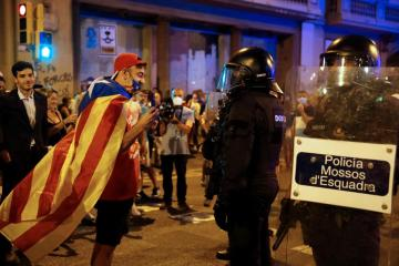 Thousands of Catalans rally for independence in Barcelona