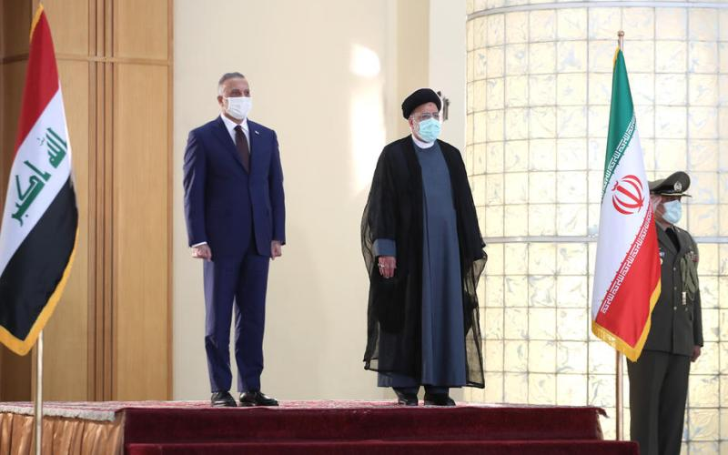 Iraqi PM becomes first foreign leader to meet Iran's Raisi