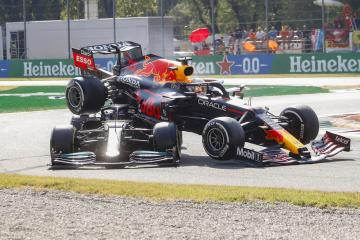 Verstappen handed three-place Russia grid penalty after Lewis Hamilton crash