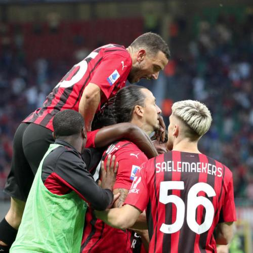 Milan's Ibrahimovic back with a goal in win over Lazio