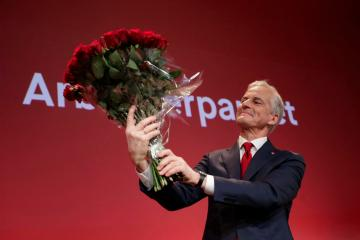 Norway's centre-left opposition wins election, projections show