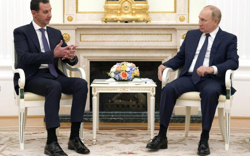Putinmeets al-Assadin Moscow, criticizes foreign forces in Syria