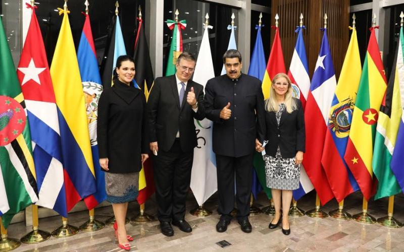Venezuelan leader Maduro lands in Mexico ahead of Latin American leaders' summit