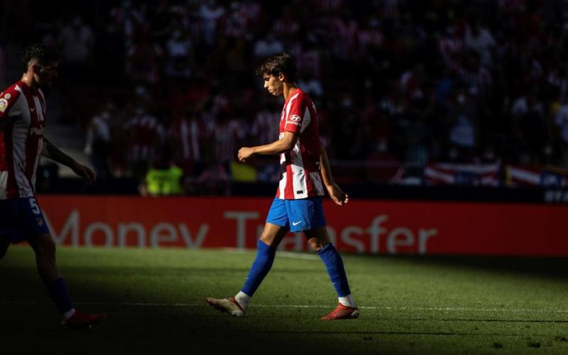 Felix sees red as Atletico Madrid held by Athletic Bilbao