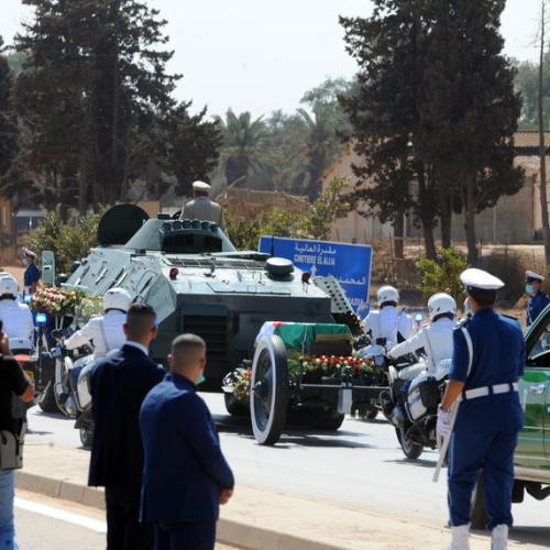 Former Algerian president Bouteflika given state funeral