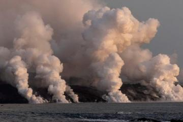 Volcanic ash buildup shuts airport on La Palma in Spain's Canary Islands
