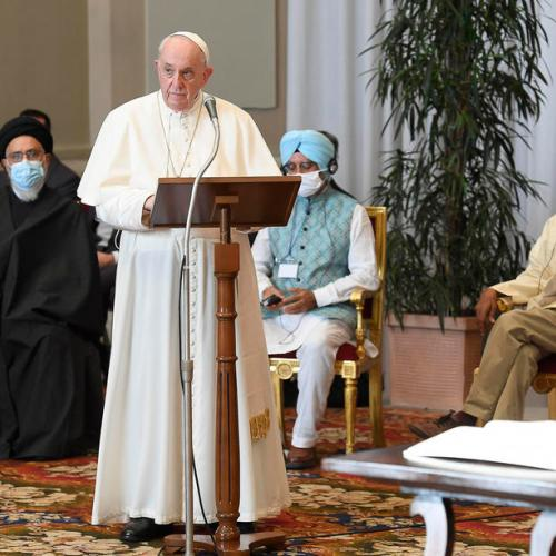 Pope, world religious leaders, issue pre-COP26 appeal on climate change