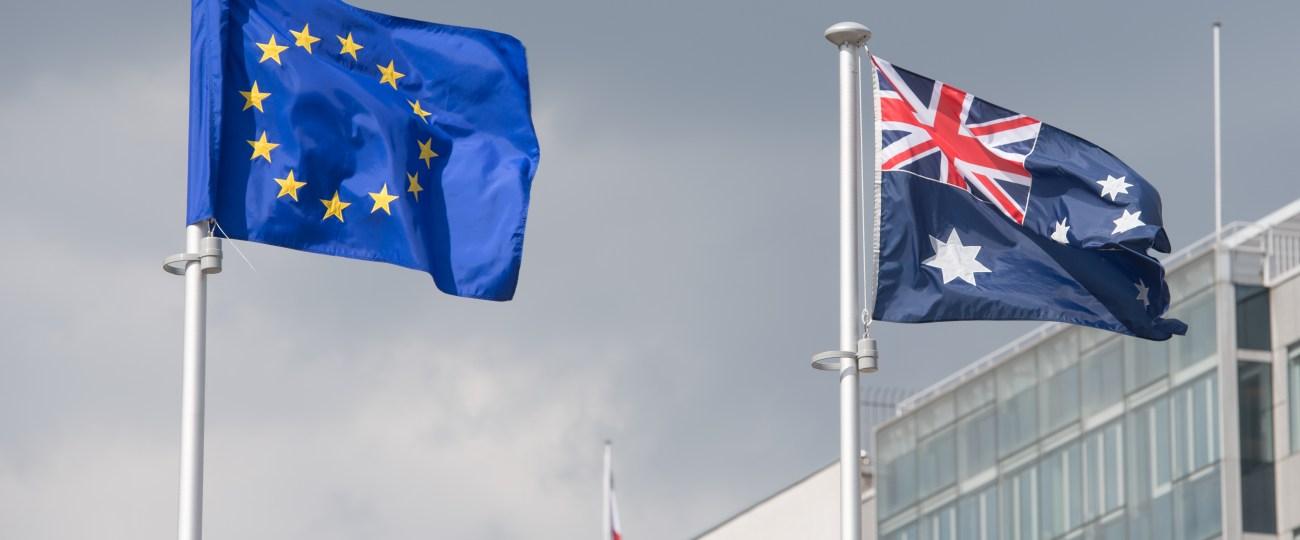 Australia says EU postpones trade talks for second time