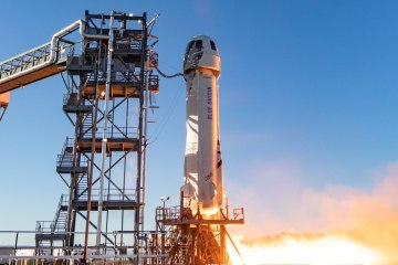 UPDATED: With 'Captain Kirk' aboard, Blue Origin to return to 'space, the final frontier'