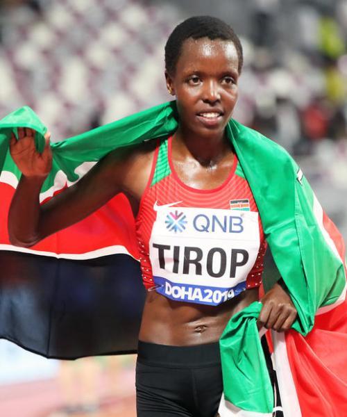 World Championship bronze medallist Tirop found stabbed to death