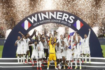 France beat Spain in Nations League final