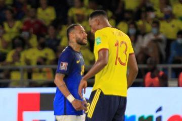 Colombia end Brazil's winning run in engrossing 0-0 draw