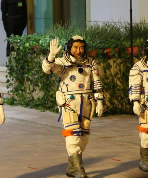 China launches second crewed mission to build space station
