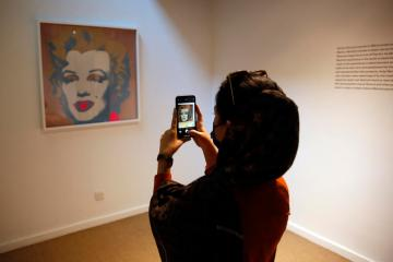Photo Story – Andy Warhol art works in the Tehran