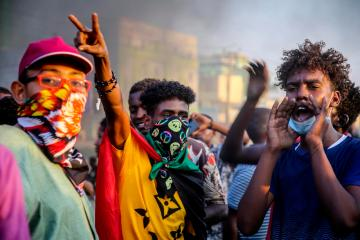 Photo Story – Protests Continue in Sudan After Military Coup Attempt