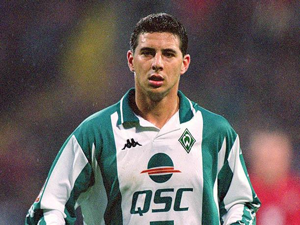 Image result for claudio pizarro werder bremen 1999