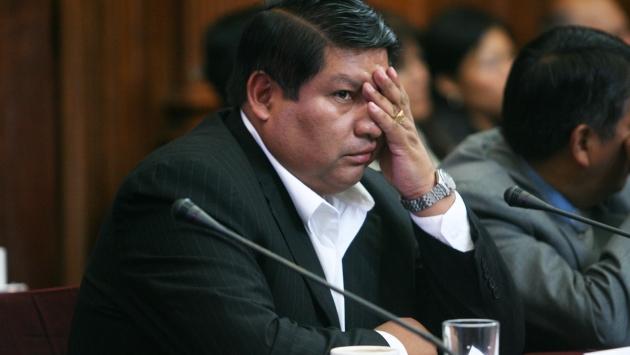 Néstor Valqui intentó dar protección al clan de 'Tía Goya'. (David Vexelman)