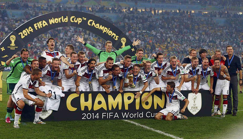 Resultado de imagen de mundial 2014 alemania campeon